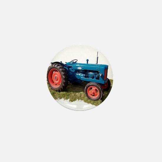 Fordson Vintage Tractor Mini Button