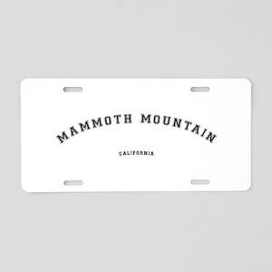 Mammoth Mountain California Aluminum License Plate