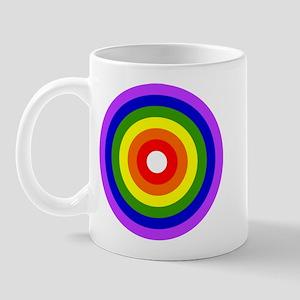CIRCLE OF RAINBOW COLORS Mug