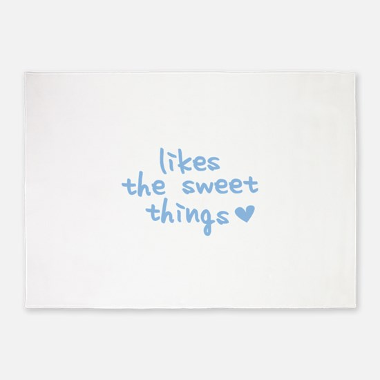 Likes The Sweet Things 5'x7'Area Rug