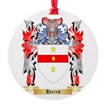 Hierro Round Ornament