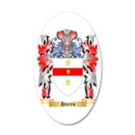 Hierro 35x21 Oval Wall Decal