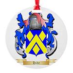 Hide Round Ornament