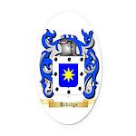 Hidalgo Oval Car Magnet