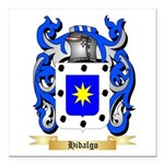Hidalgo Square Car Magnet 3