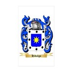 Hidalgo Sticker (Rectangle 10 pk)