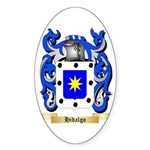 Hidalgo Sticker (Oval 50 pk)