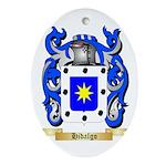 Hidalgo Ornament (Oval)