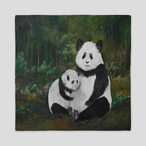 Panda Mania Queen Duvet