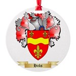 Hicks Round Ornament