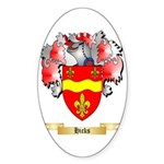 Hicks Sticker (Oval)