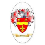 Hicks Sticker (Oval 50 pk)