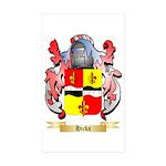 Hicks (Ireland) Sticker (Rectangle 50 pk)