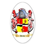 Hicks (Ireland) Sticker (Oval 50 pk)