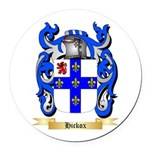 Hickox Round Car Magnet