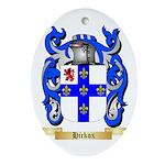 Hickox Ornament (Oval)