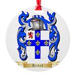Hickok Round Ornament