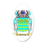 Hickling Oval Car Magnet