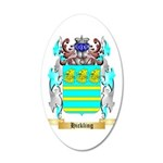 Hickling 35x21 Oval Wall Decal
