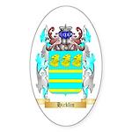 Hicklin Sticker (Oval 10 pk)