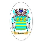 Hicklin Sticker (Oval 50 pk)