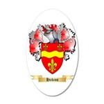 Hickins 20x12 Oval Wall Decal