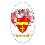 Hickin Sticker (Oval 50 pk)