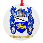 Hickey Round Ornament