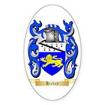 Hickey Sticker (Oval)