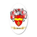Hickes 20x12 Oval Wall Decal