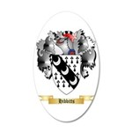 Hibbitts 20x12 Oval Wall Decal