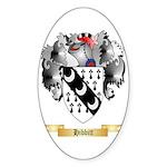 Hibbitt Sticker (Oval 10 pk)