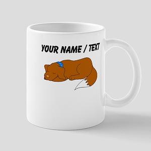 Dog Sleeping (Custom) Mugs