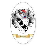 Hibbett Sticker (Oval 10 pk)