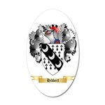 Hibbert 20x12 Oval Wall Decal