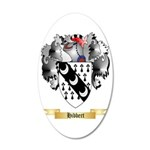 Hibbert 35x21 Oval Wall Decal