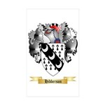 Hibberson Sticker (Rectangle 50 pk)