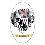 Hibberson Sticker (Oval 10 pk)