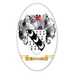 Hibberson Sticker (Oval 50 pk)