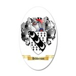 Hibberson 35x21 Oval Wall Decal