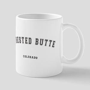 Crested Butte Colorado Mugs