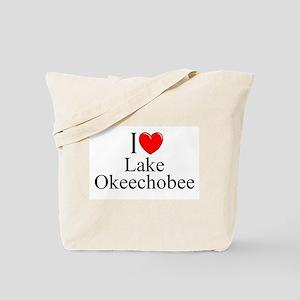 """I Love Lake Okeechobee"" Tote Bag"