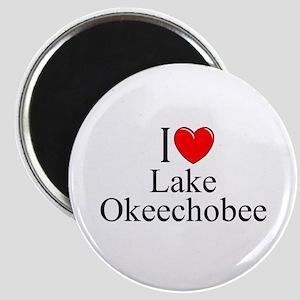 """I Love Lake Okeechobee"" Magnet"