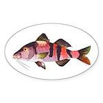 Manybar Goatfish Sticker