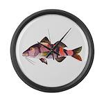 Manybar Goatfish Large Wall Clock