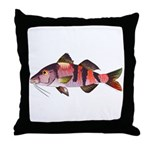 Manybar Goatfish Throw Pillow