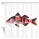 Manybar Goatfish Shower Curtain