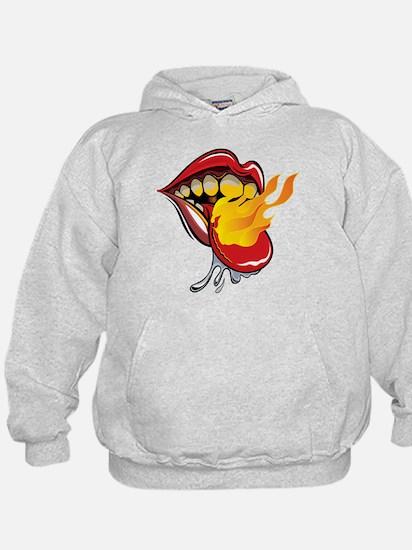 Soyracha Flaming Tongue Hoodie