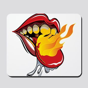 Soyracha Flaming Tongue Mousepad