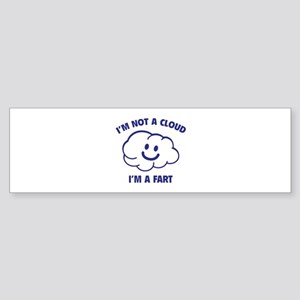 I'm Not A Cloud Sticker (Bumper)